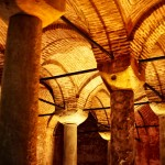 Istanbul – Detail of the arcs in the Basilica Cistern