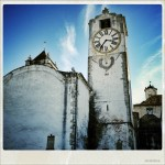 Old church tower in Tavira