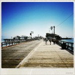 Beautiful weather on the Santa Barbara Wharf