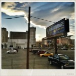 From the bus after leaving the NAB show in Las Vegas