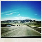 Northwards on the Interstate 5 near Camp Pendleton