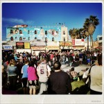 Street performance in Venice Beach