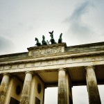 On our way back in Berlin – the Brandenburger Tor